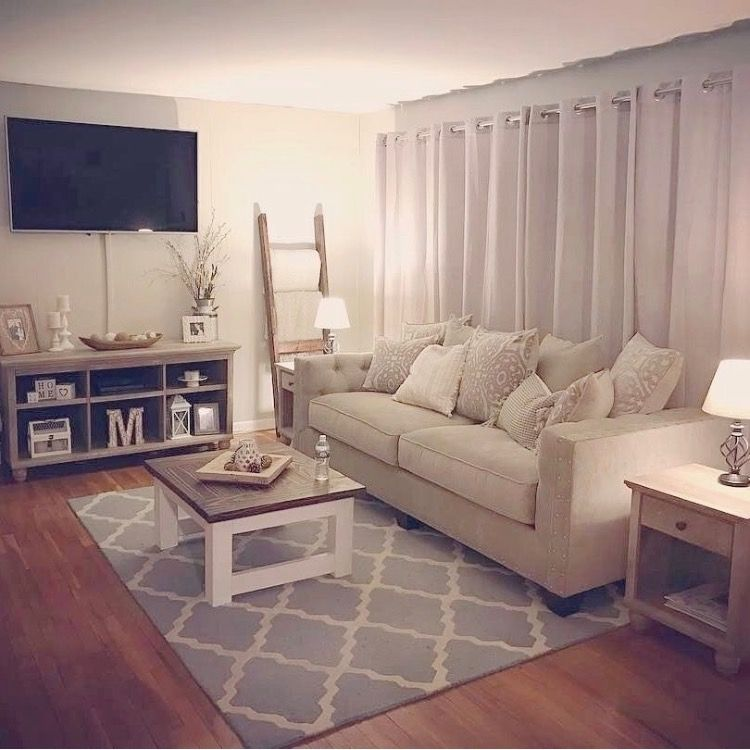 Simple Cute Small Living Room Decor Farm House Living Room Apartment Living Room Design
