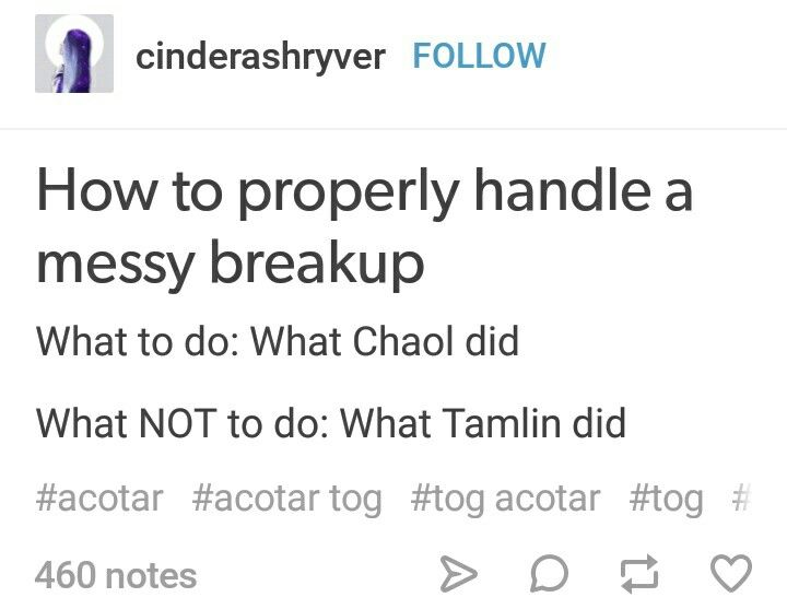 How to properly handle a messy breakup.