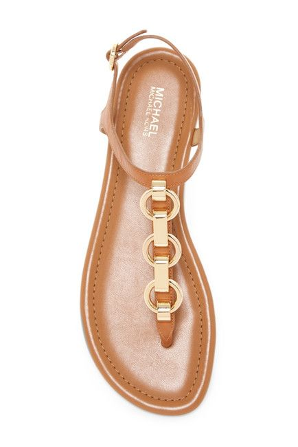 6b2b887c694 MICHAEL Michael Kors Mahari Thong Sandal in camel color