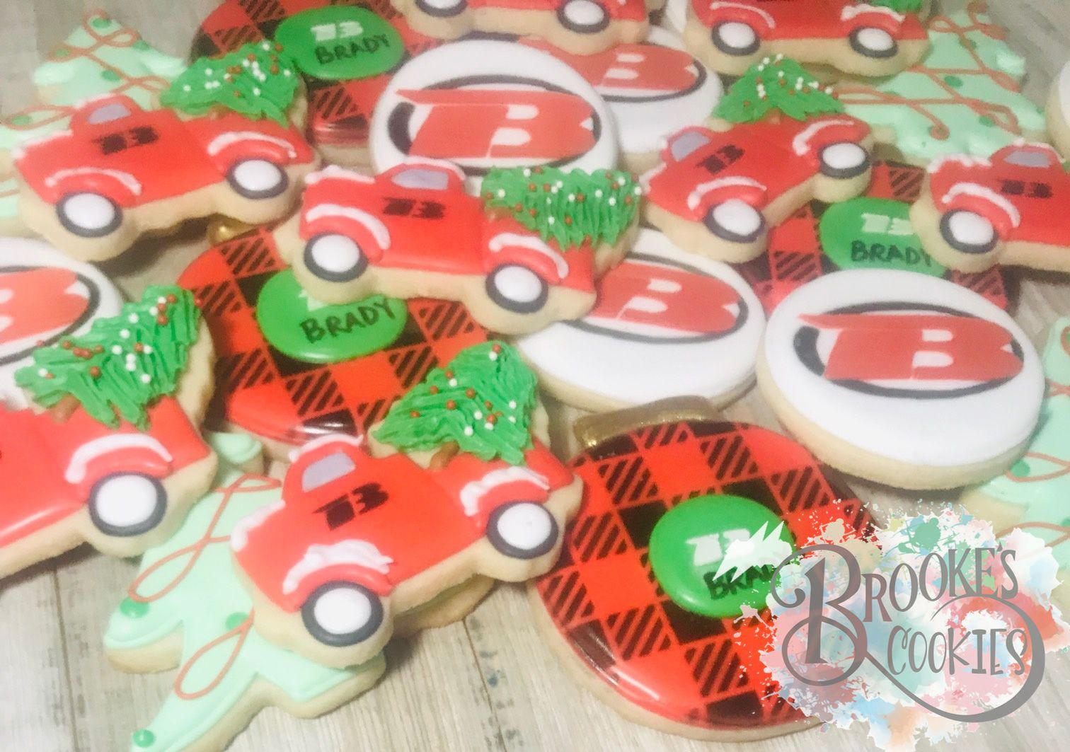Brady Trucking and Welding Cookies Cookie business