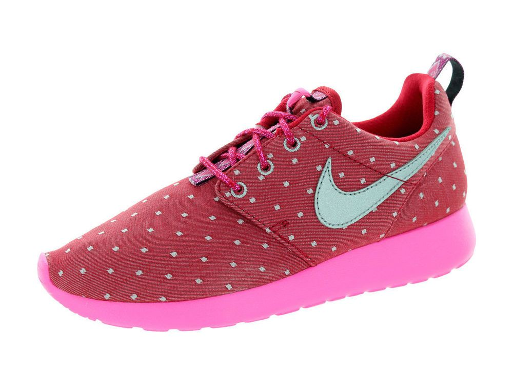 Nike Roshe One Flight Weight (GS) Schuhe pink pow-white - 37,5