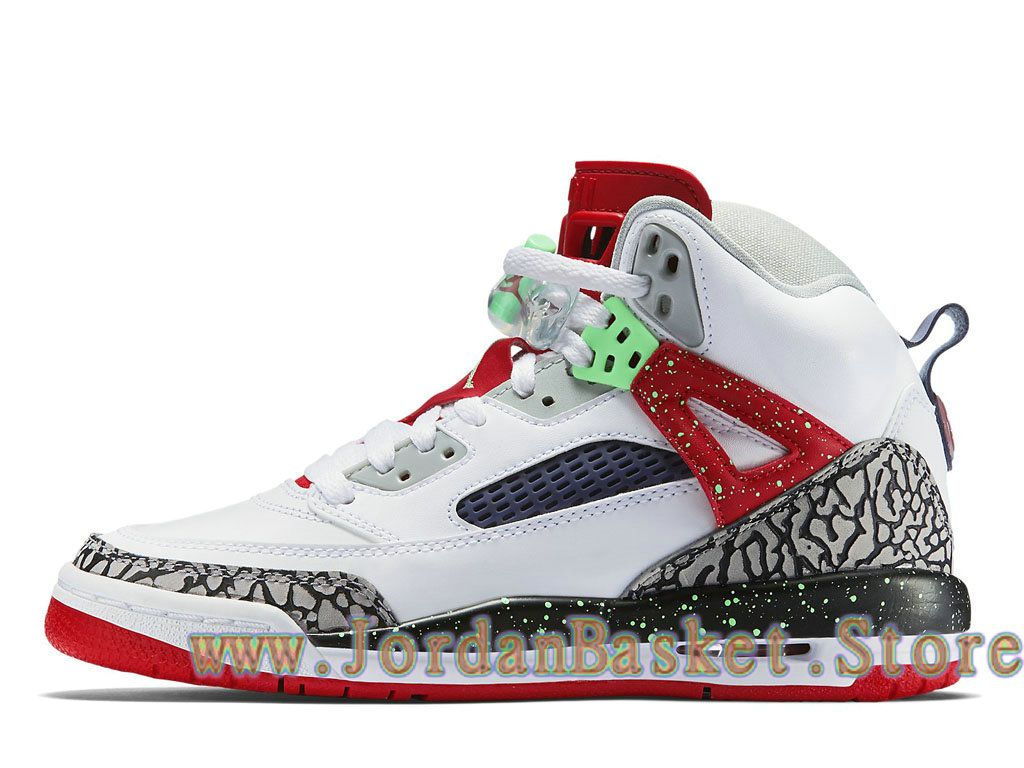 new products 00d86 2f5ec Jordan Spizike BG White Poison Green 317321 132 Chaussures Jordan Site Pas  Cher Pour Femme Blanc-1712130612-Air Jordan Site Officiel 2018!