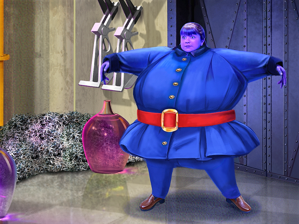 Violet Beauregarde blowing up by Girard1020.deviantart.com ...
