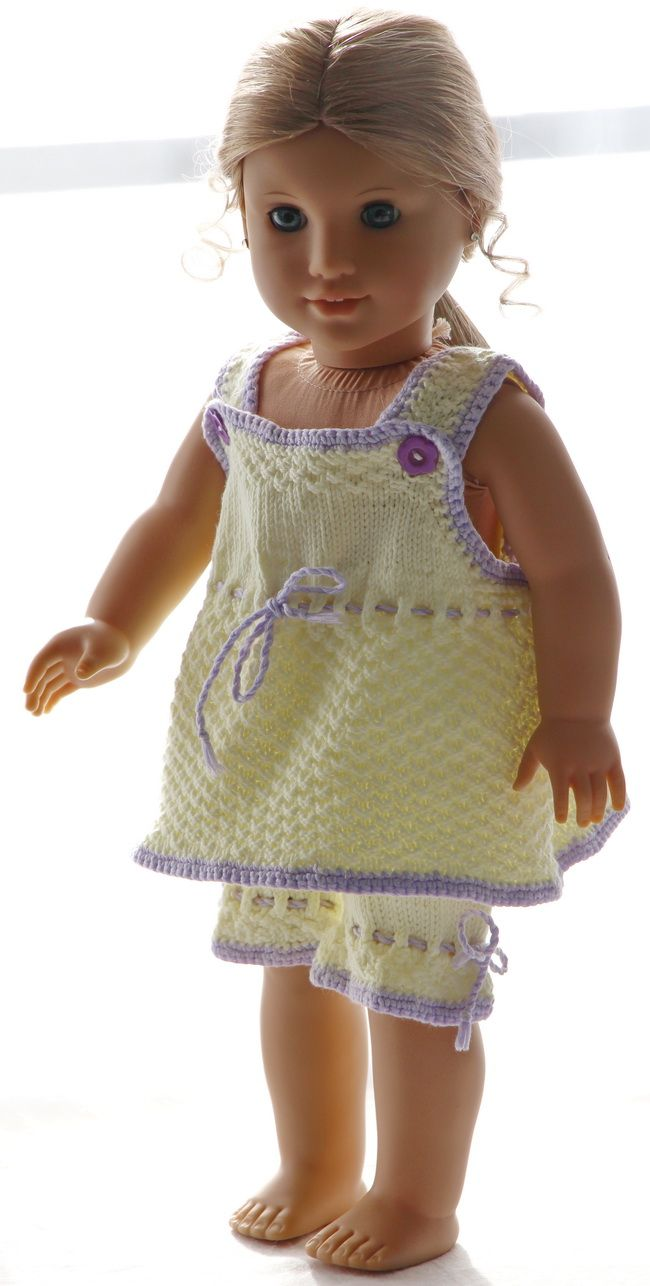 Knitting patterns for dolls clothes | Maalfrid-Gausel Knitting ...