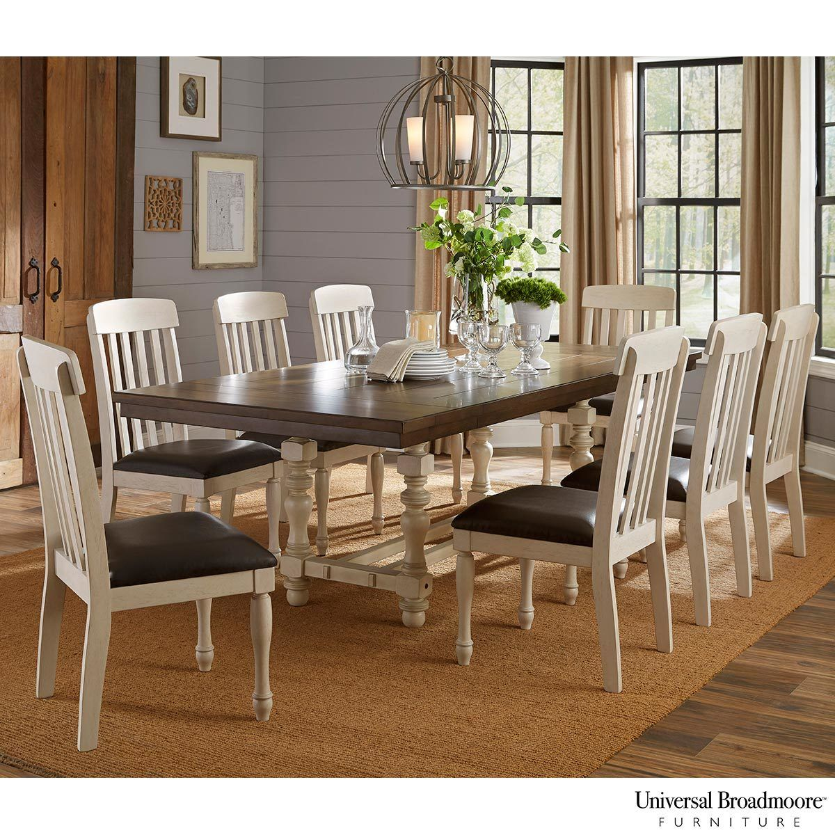 Universal Broadmoore Extending Dining Room Table 8 Chairs Costco Uk Dining Room Design Dining Room Sets Unique Dining Room