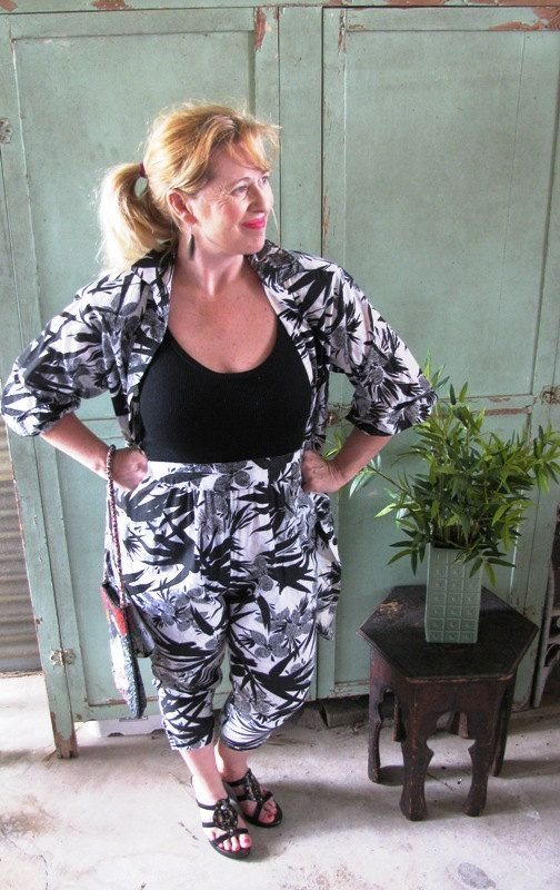Vintage 1970's 3 Piece Jump Suit & Jacket by TheIDconnection, $58.00