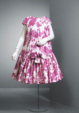 Babydoll Dress By Balenciaga Cristobal Balenciaga Museum Guetaria