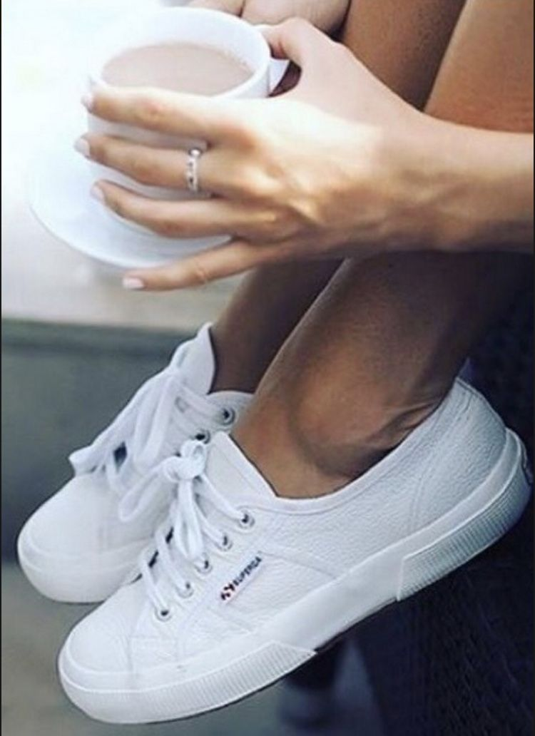 Tênis Superga | Shoes, White sneaker, Sneakers