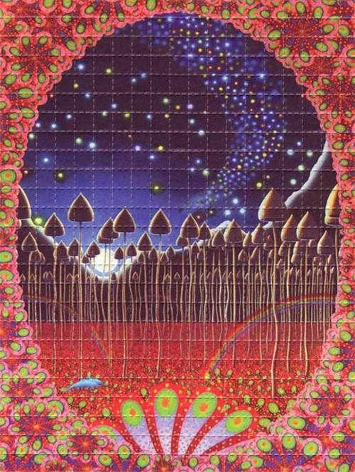 ☮ American Hippie Psychedelic Art