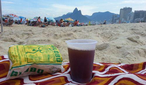 Biscoito de polvilho tem gosto sim, tem gosto de praia…  Rio de Janeiro - Brasil.