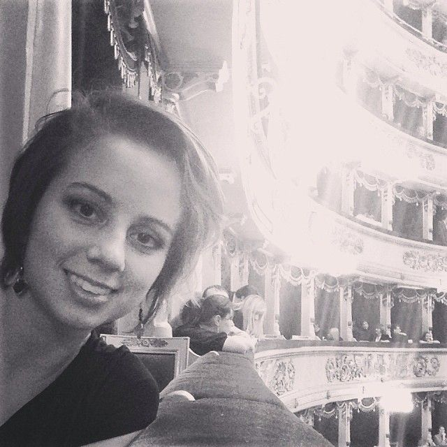 @katriciastewart Last night in Milan alla Scala for the opening night of Lucia di Lammermoor. #ascoltare #italy #isthisreallife #lascala