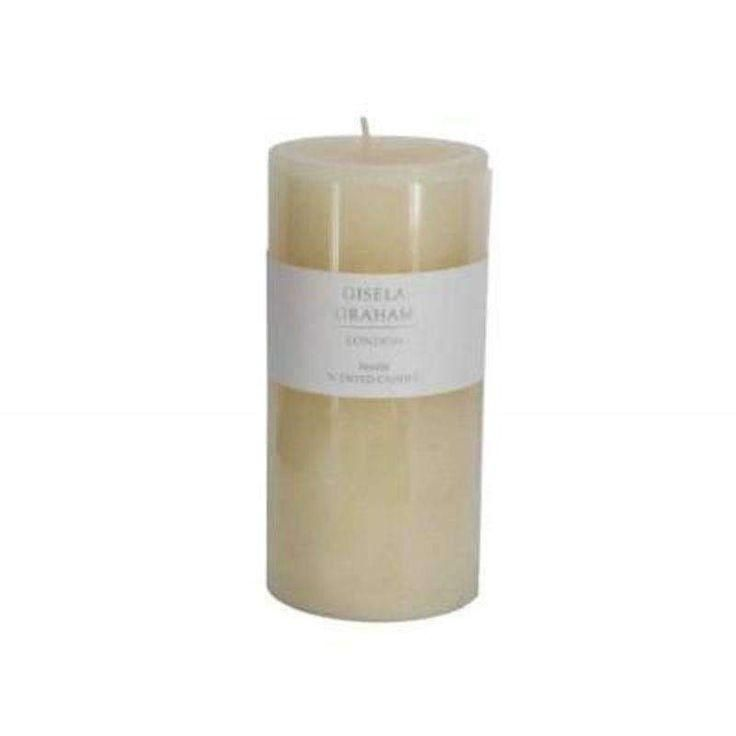 Photo of Vanilla Scented Pillar Candle – Large