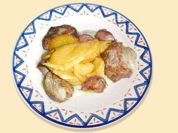 Chuleta de cabrito al ajo cabañil - La Cocina Andaluza