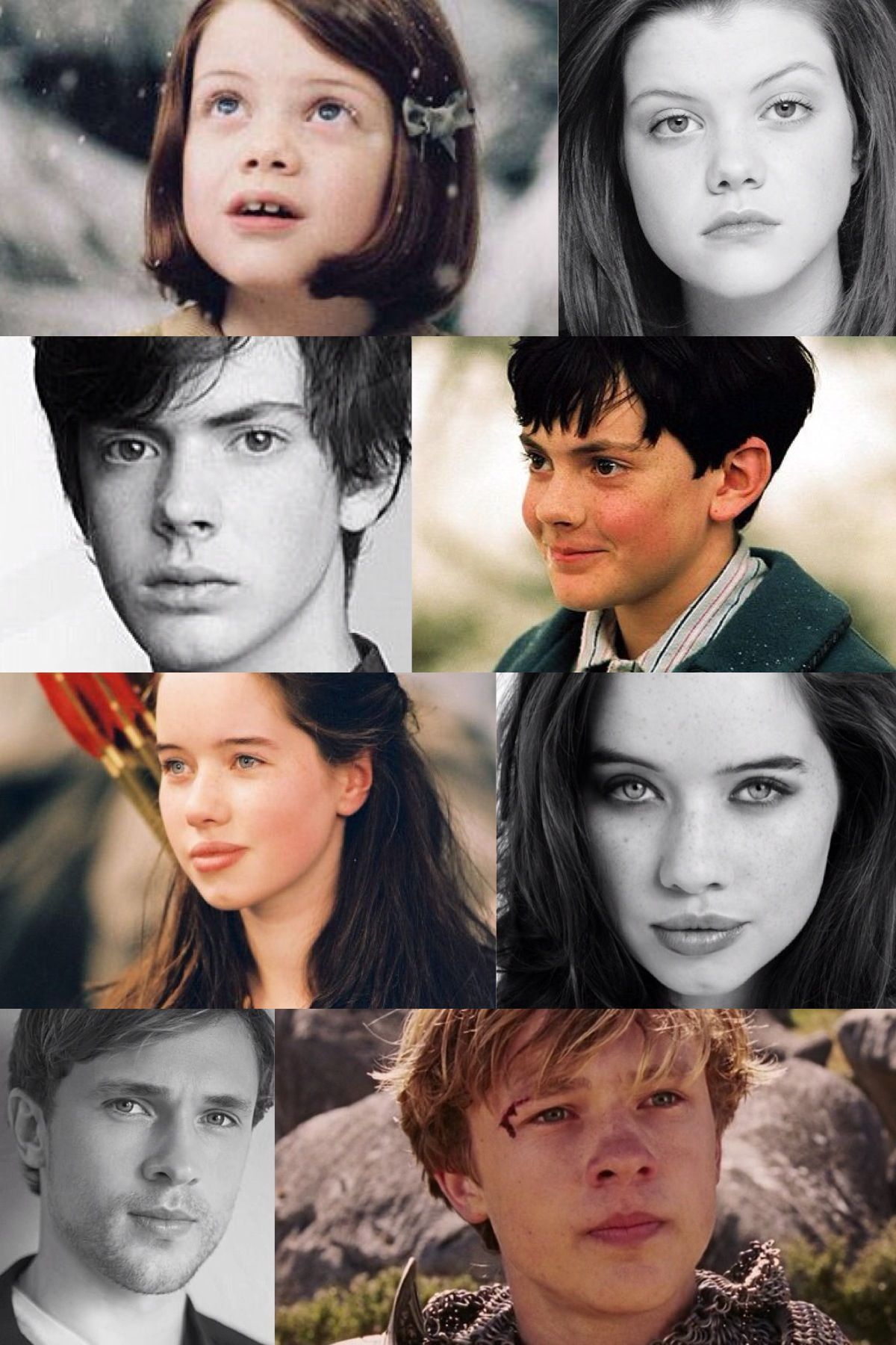 Chronicles Of Narnia Kids Then And Now Aslan Narnia Chronicles Of Narnia Narnia Cast