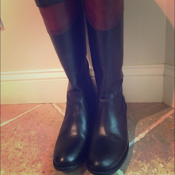 Melissa Harness Frye boots Wore once and didn't fit. Frye Shoes Over the Knee Boots