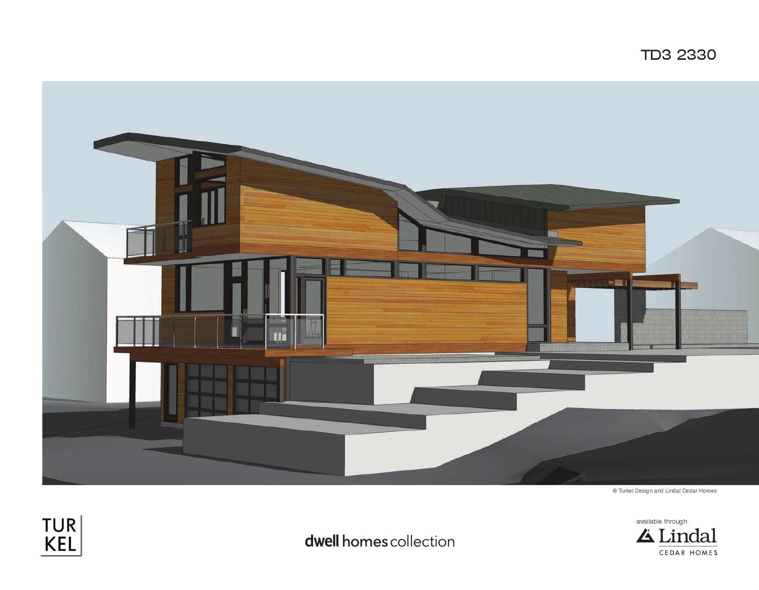 Turkel Design For Lindal Cedar Homes Plan Library Architecture