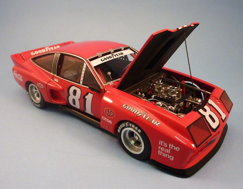 Chevy Monza 75 Imsa The Drastic Plastics Model Car Club