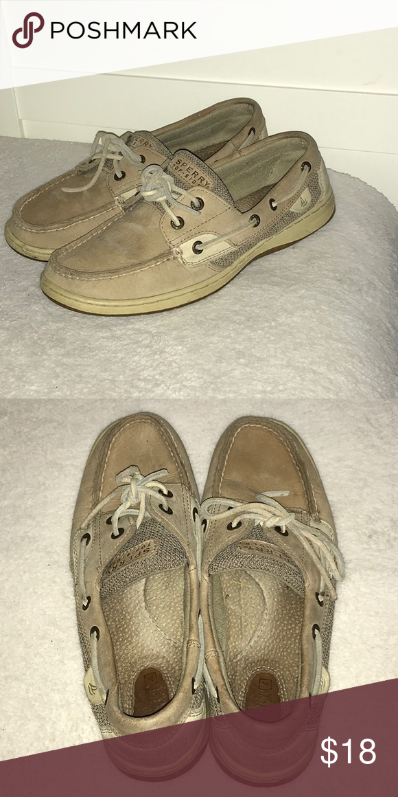Sale Sperry Top Siders Leather Non Marking Sole