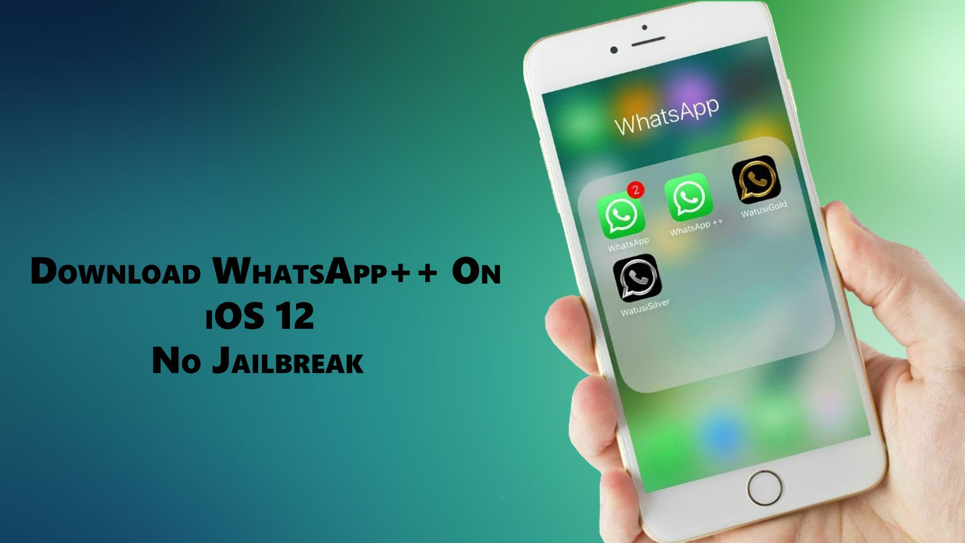 How to download WhatsApp++ on iPhone & iPad without