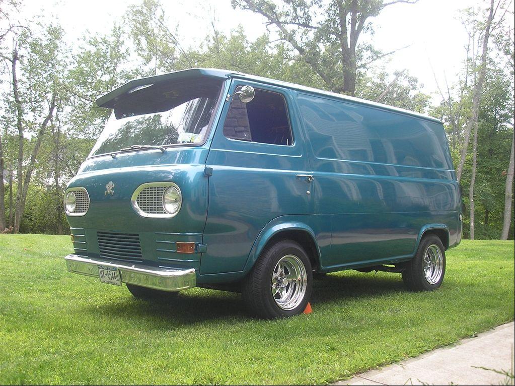 Old Custom Ford Vans 1965 Ford Econoline E150 Passenger The Van