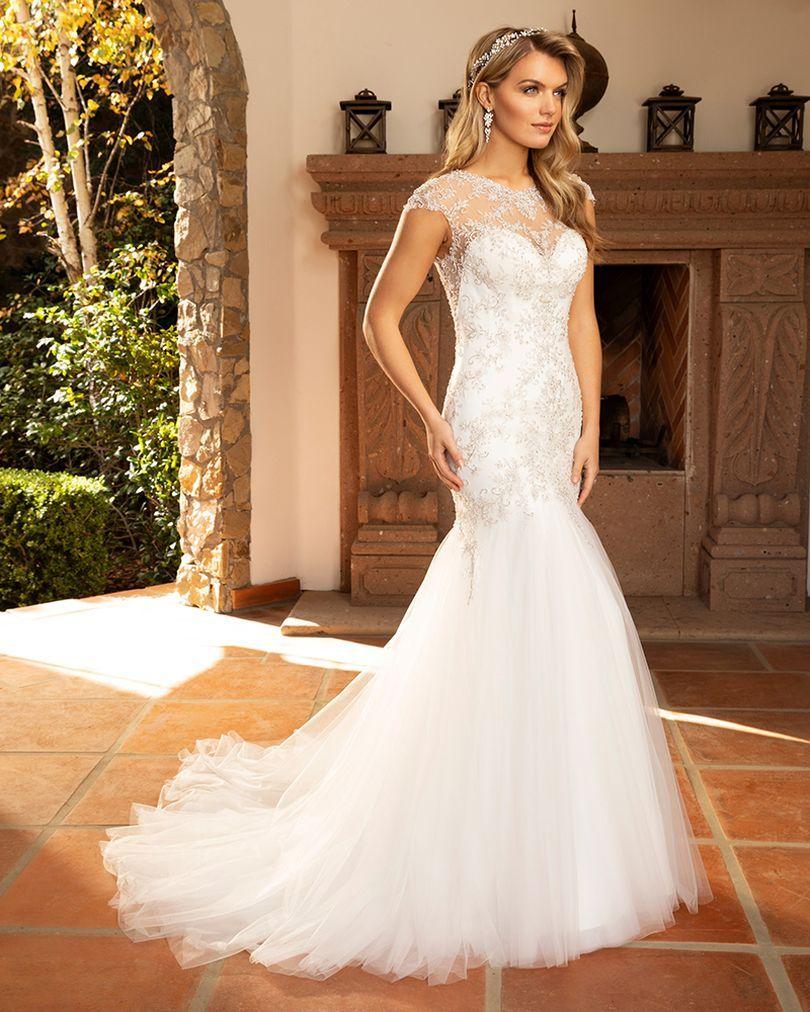 Style 2386 Monica Casablanca Bridal in 2020 Casablanca