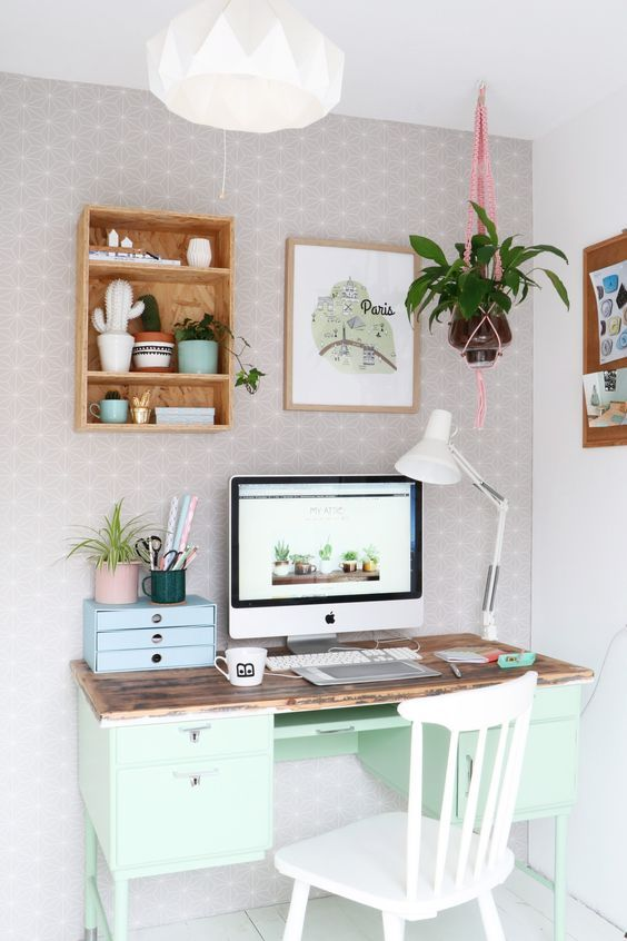 Create The Perfect Home Officeu2026From Mood Board To Real Life