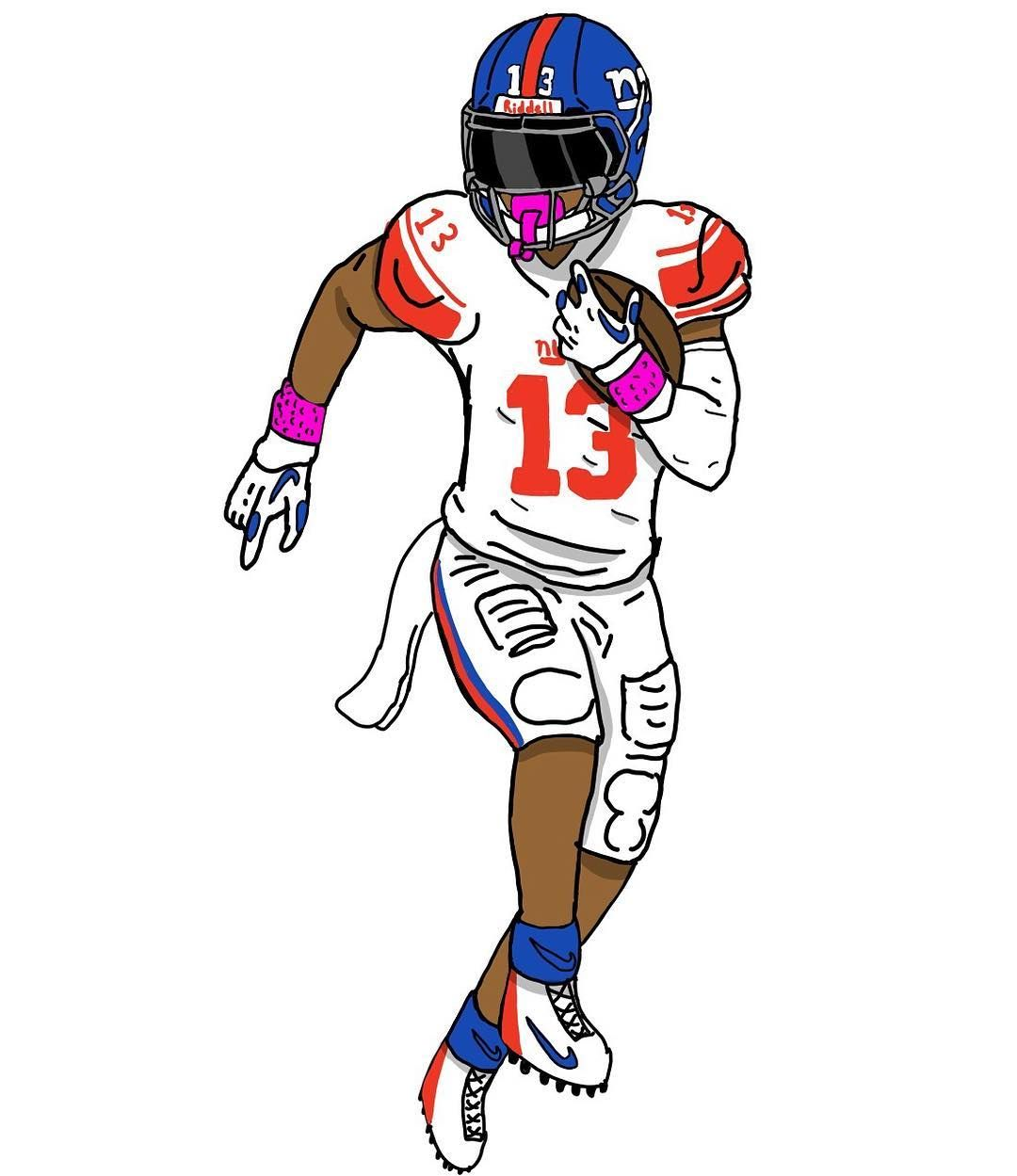 Another Obj Picture Obj Odell Newyorkgiants Odellbeckhamjr
