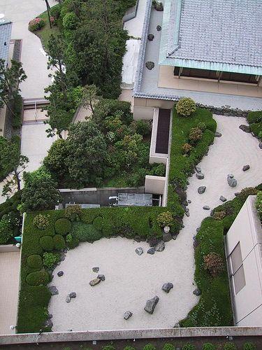Rooftop Zen Garden Tokyo Bay Hilton is part of Zen garden Rooftop - View from our room at the Tokyo Bay Hilton
