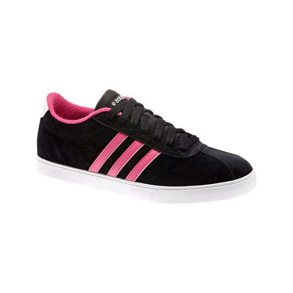 adidas Women's adidas NEO Courtset - Black/Pink/White Casual ...