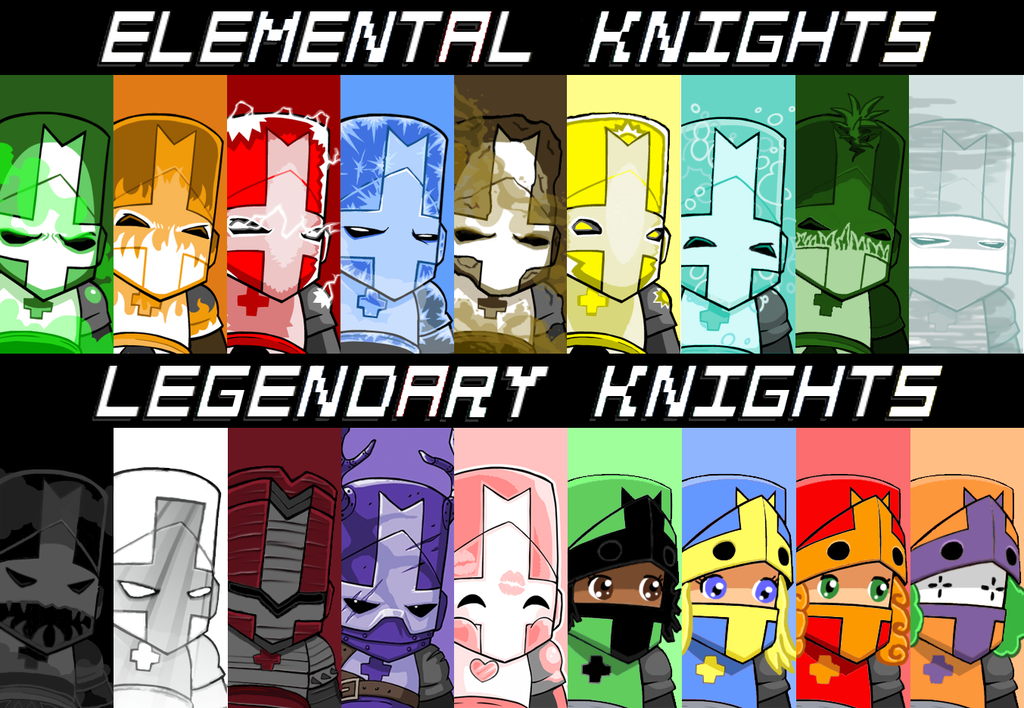 Castle Crashers Extended Roster By Jaydentalbert Castle Crashers Castle Game Art