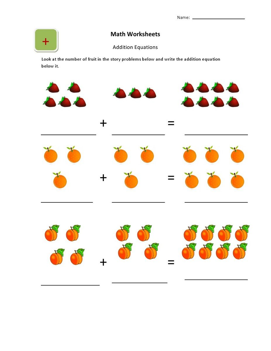Online Worksheets for Kindergarten | Worksheets for 4-5 ...