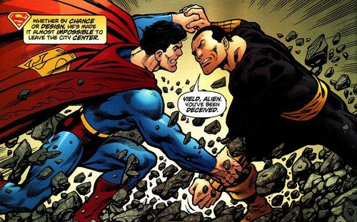 Black Adam Vs Thor