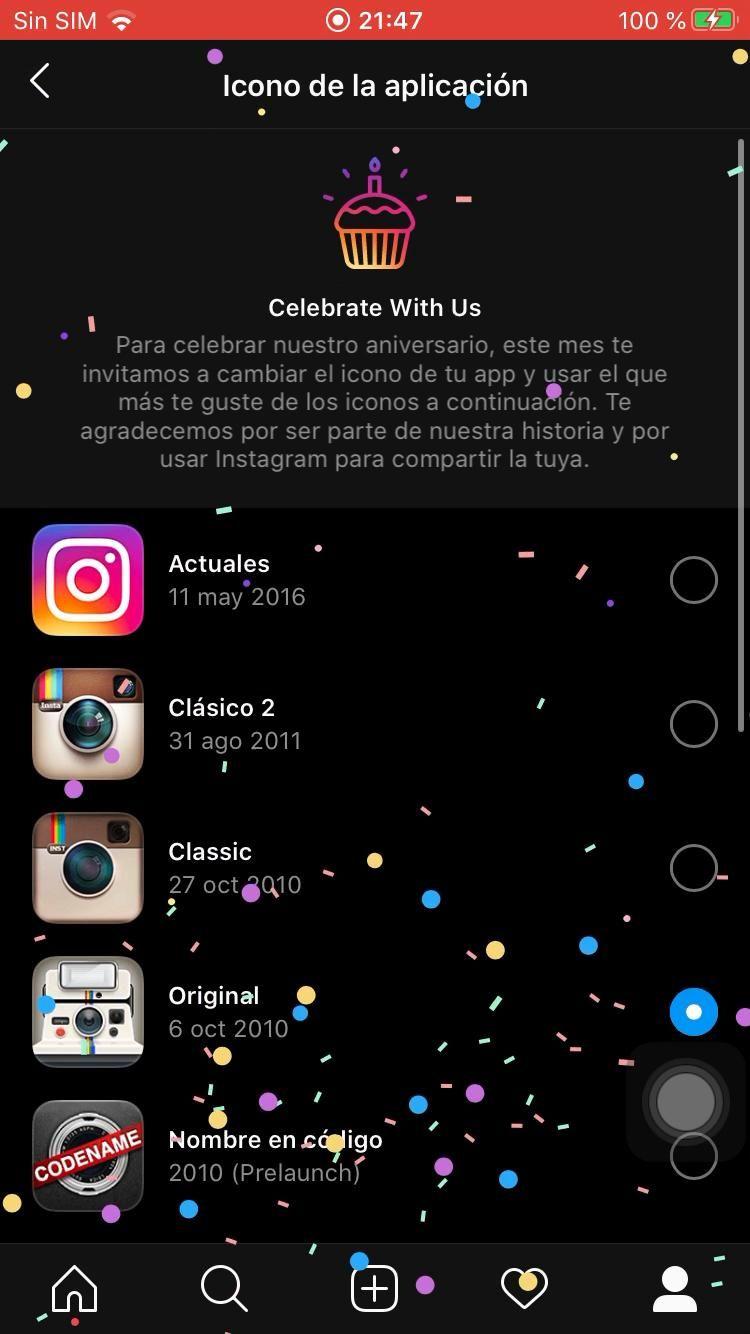 Sabes Cómo Cambiar El Icono De La App Instagram Video Sistema Android Instagram Como Cambiar