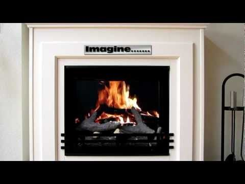Digital Fireplace The Easiest Cheapest And Most