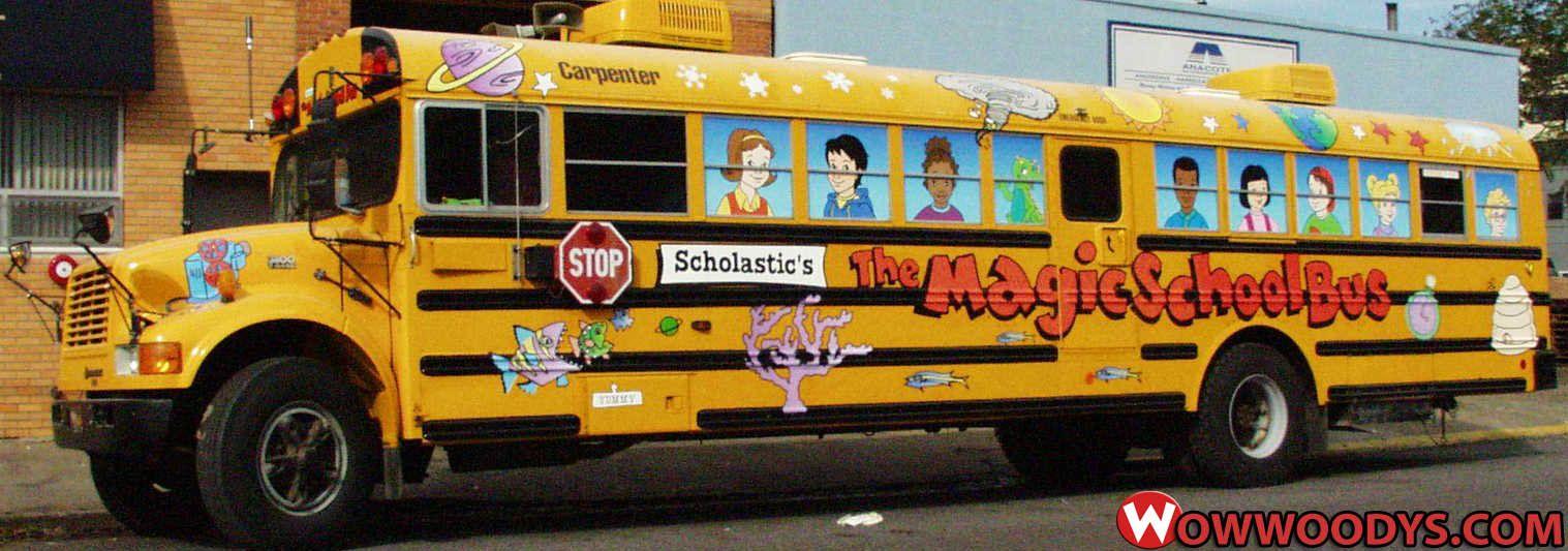 Magic School Bus   TV & Movie Cars   School bus camper, Bus