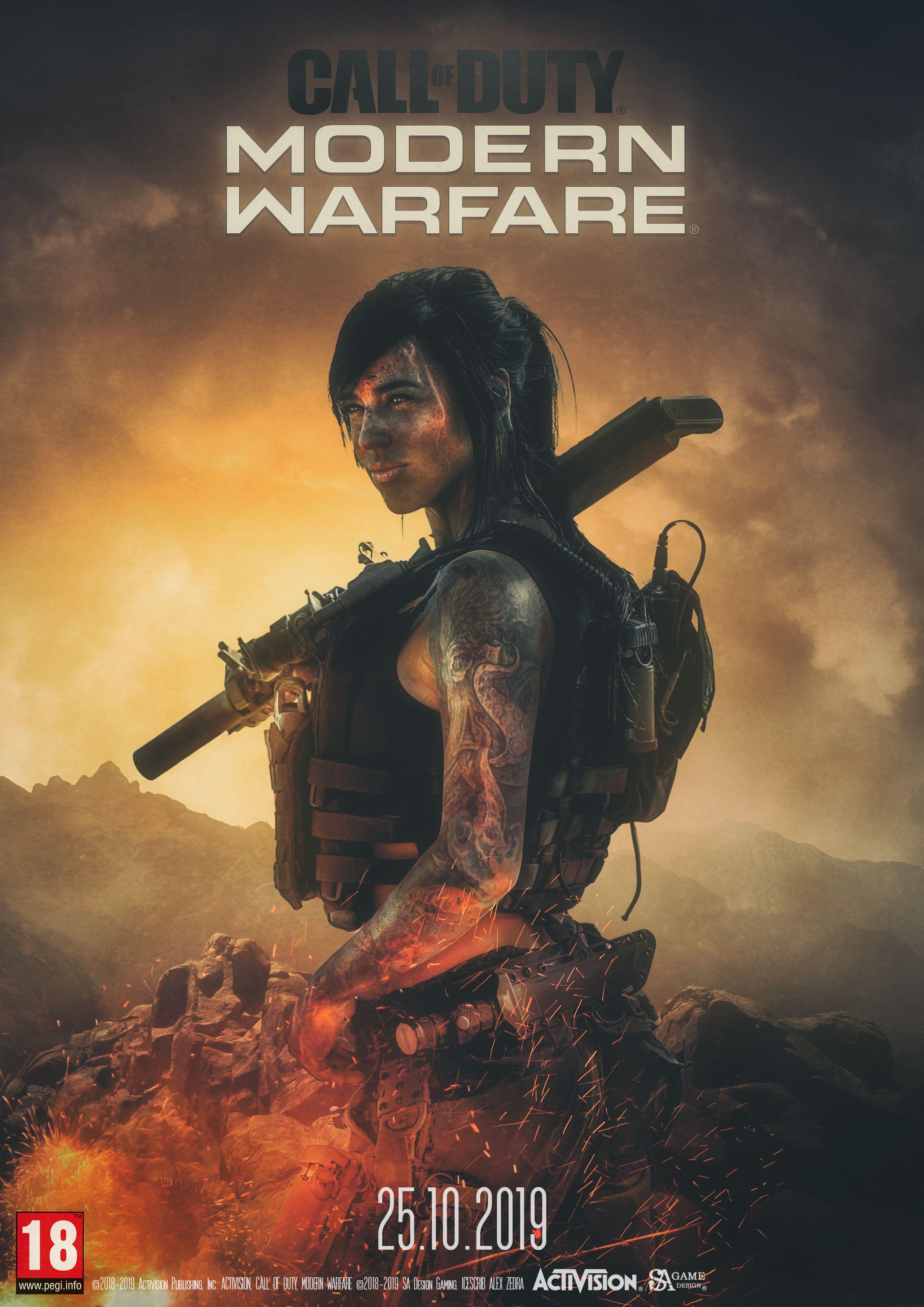 Pin By Levi Macias On Call Of Duty Modern Warfare Alex Zedra Cinema Art
