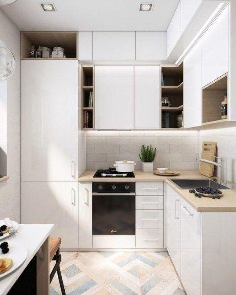 25 Awesome Small Kitchen Design Ideas 2019 Di 2020 Dengan Gambar