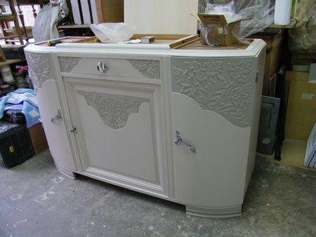Meuble Art Deco Peint A Levallois Perret Meubles Art Deco Renovation Meuble Relooker Meuble