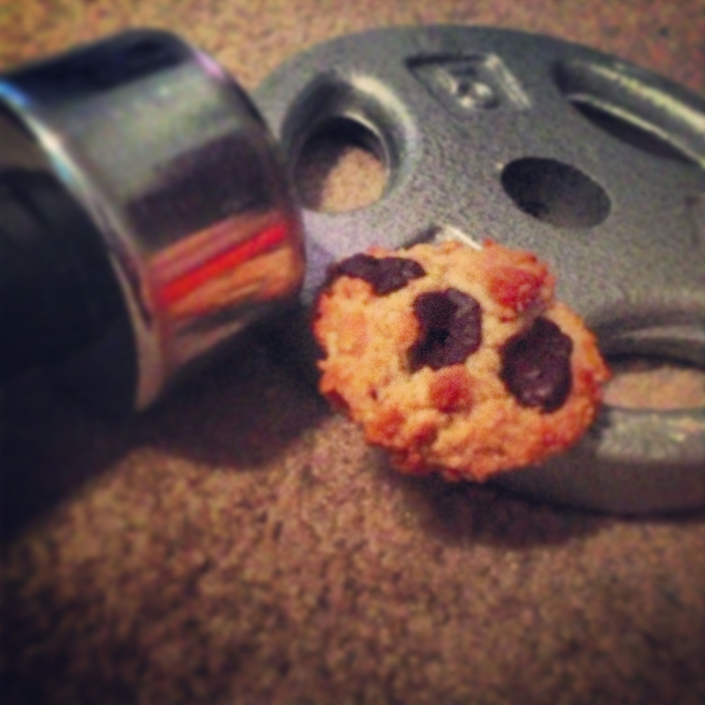 Hotandhungry.wordpress.com Workout cookie!