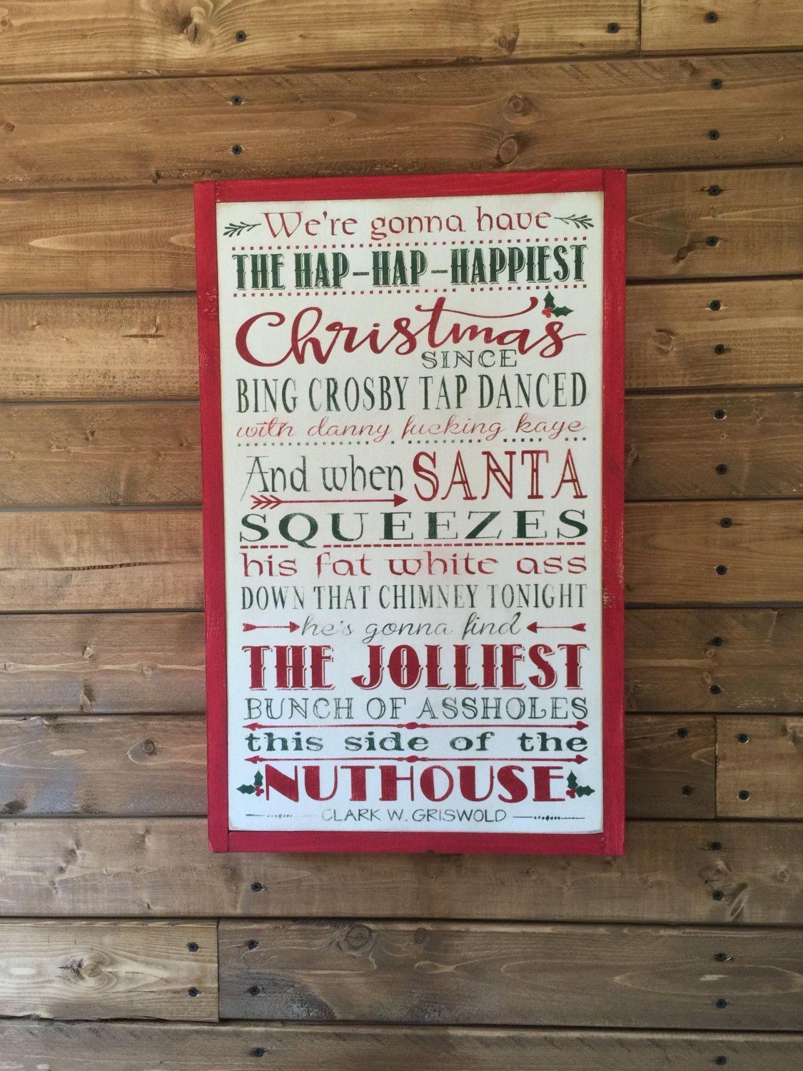 Christmas Vacation Sign, National Lampoon, Griswold