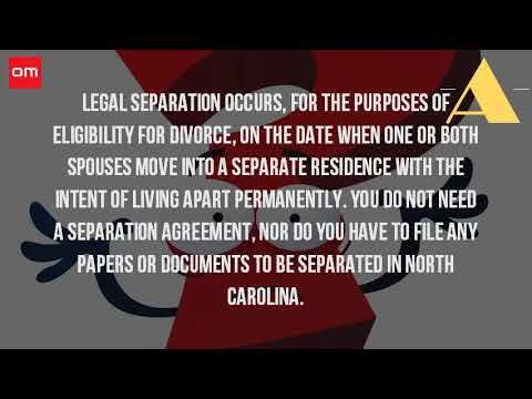 How Do You File For Separation In Nc Watch Video Here Http