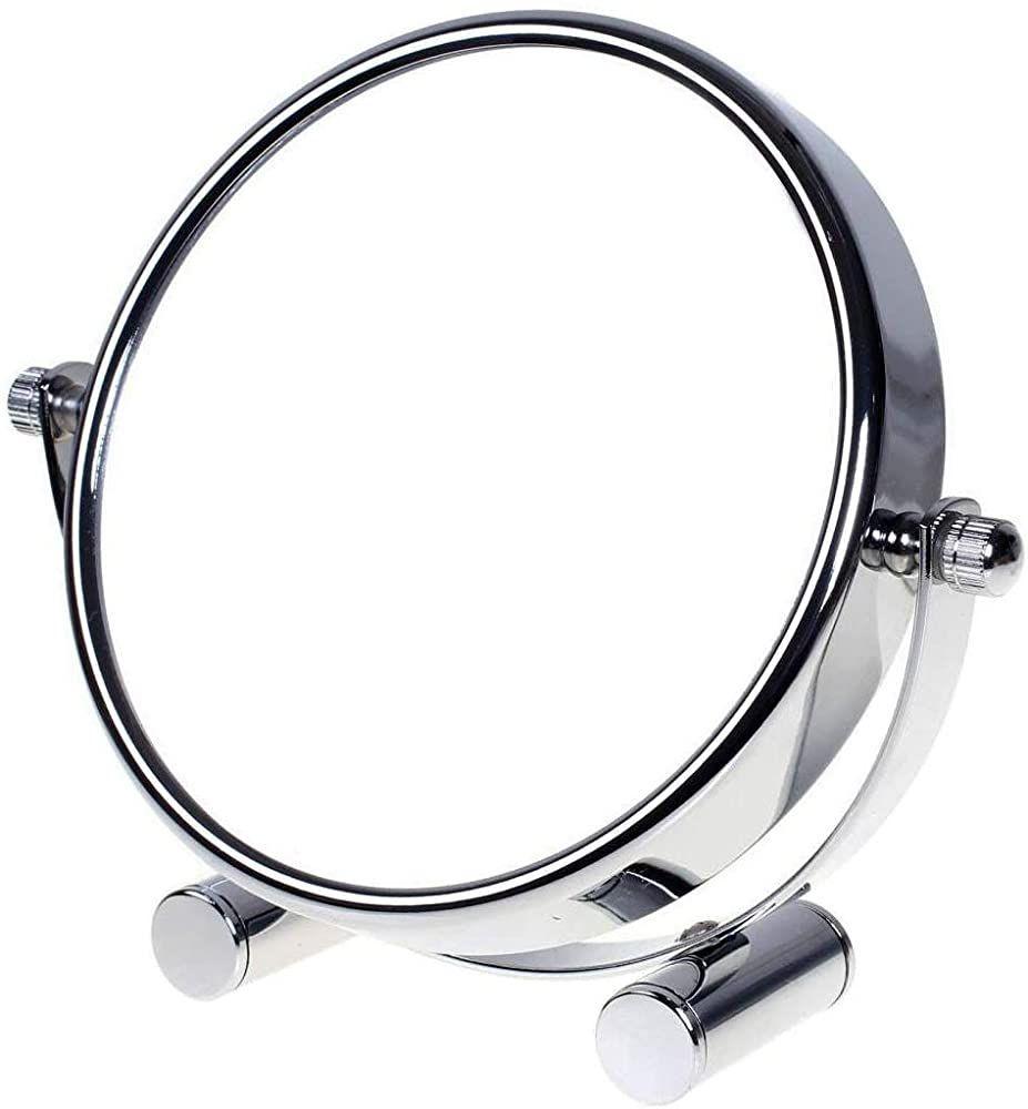 Tuka Designed Kosmetikspiegel 10 Fach 6 Inch Tischspiegel 360 Drehbar Standspiegel Schminkspiegel Badezimmerspieg Tischspiegel Spiegel Schminkspiegel