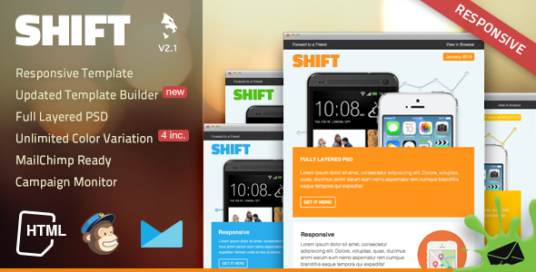 Review Shift Responsive Email Templatetoday Price Drop And Special