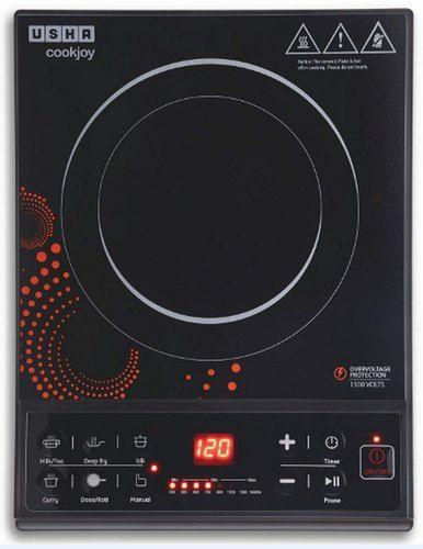 Usha Cook Joy 3616 Induction Cooktop Black In 2020 Induction Cooktop Usha Induction