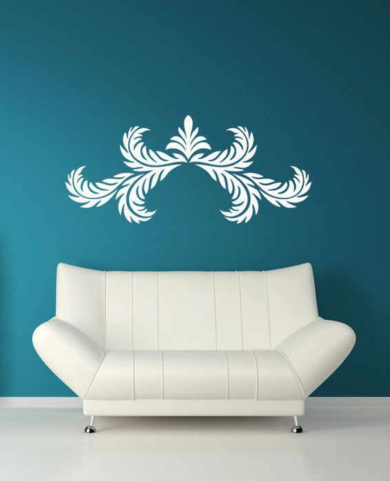 Rome Wall Art Greek Decal Roman Acanthus Leaf Decal Wall