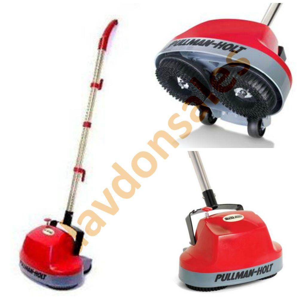 Pullman Holt Gloss Mini Floor Scrubber Carpet Buffer Tile Wood Cleaner Machine Floorbuffer