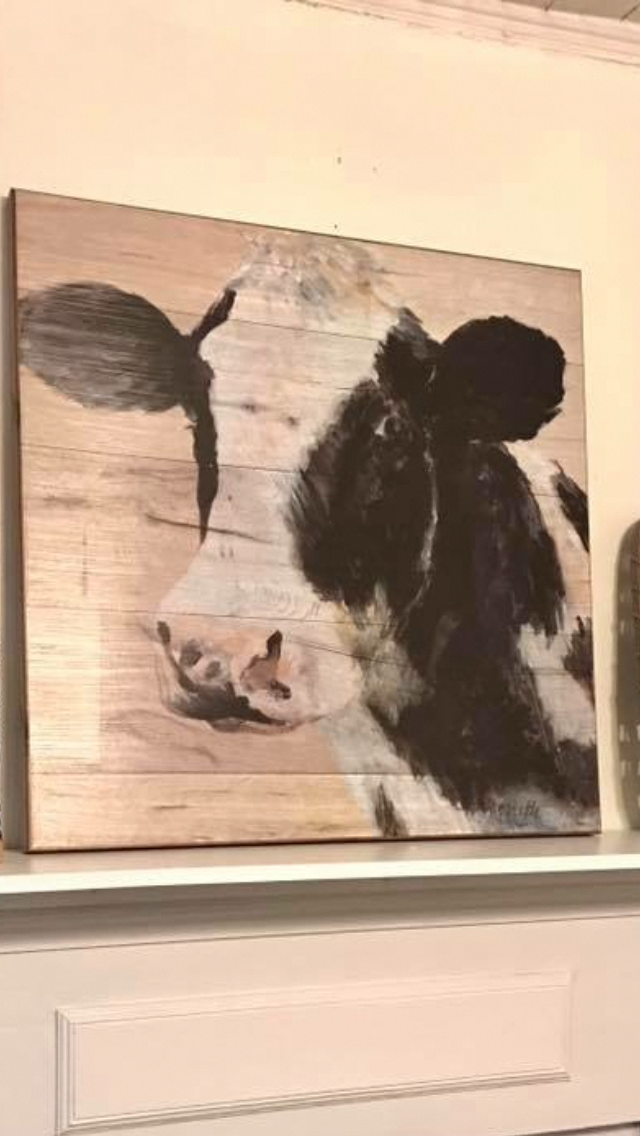 Cow Picture From Lowe S Modernhomedecorlivingroom Cow Pictures Cow Art Cow Kitchen Decor