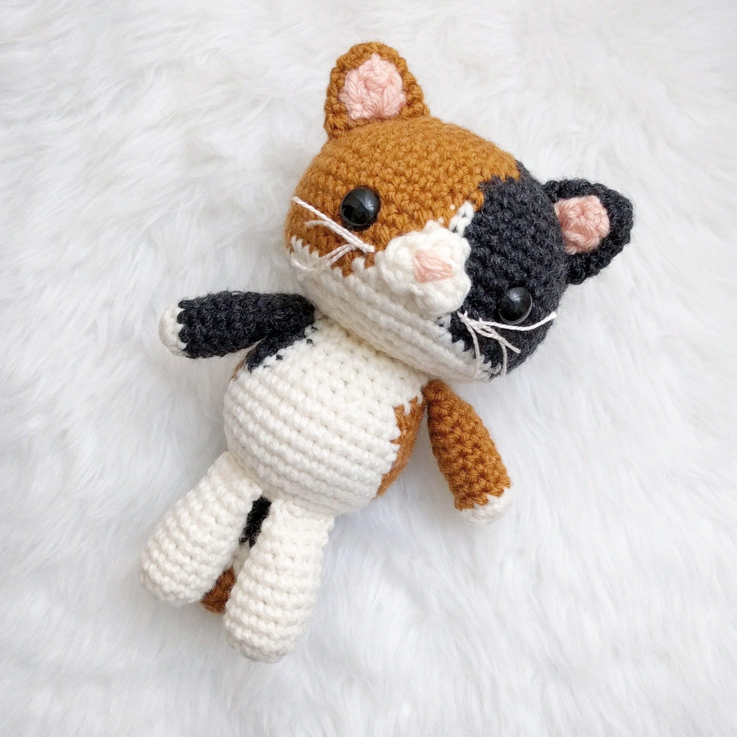 111 Cats Amigurumi Patterns | 2414x2414