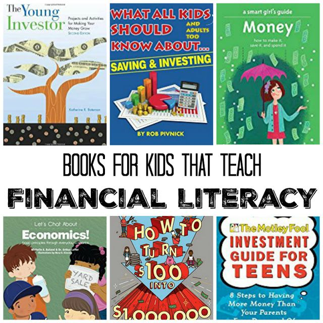Books That Teach Financial Literacy To Kids Parenting Wisdom