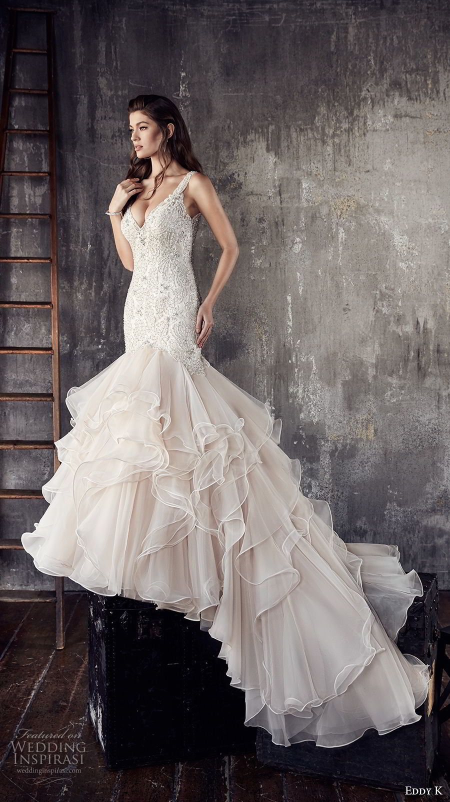Eddy k couture wedding dresses pinterest mermaid wedding